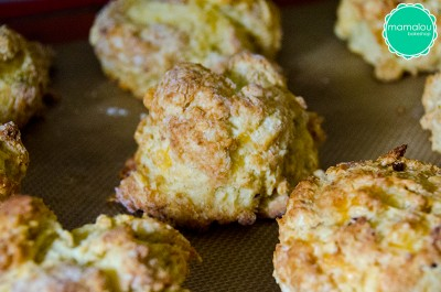 Cheddar Bacon Biscuits made by Mamalou Bakeshop
