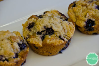 blueberry buckle made by mamalou bakeshop