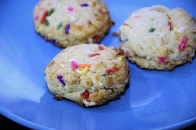 Coconut Confetti Cookie baked by Mamalou Bakeshop