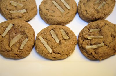 Molasses Ginger Cookie by Mamalou Bakeshop