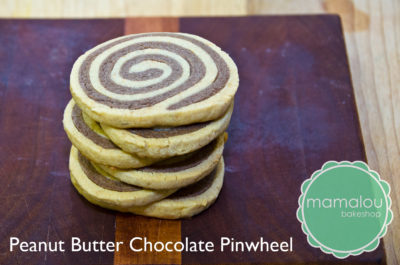 peanut butter chocolate pinwheel cookie from mamalou bakeshop