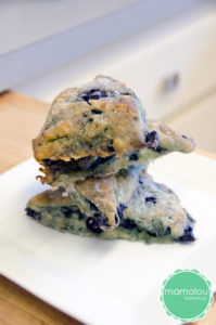 Blueberry Scone by Mamalou Bakeshop in Corvallis, Oregon